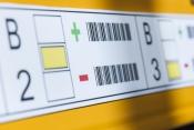 Lagerplatzkennzeichung incl Barcode