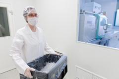 Reinraum Fertigung Kunststoff